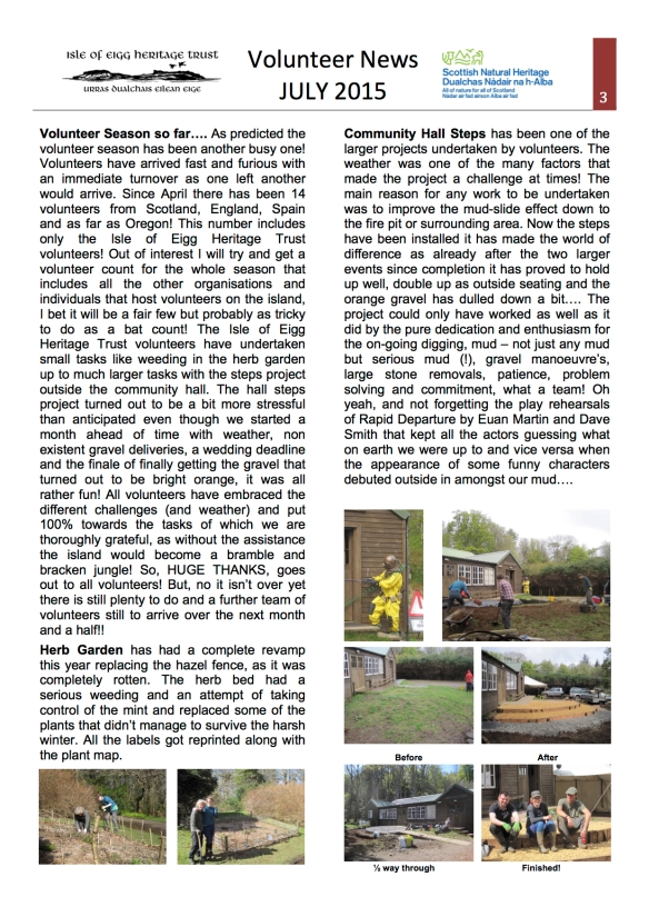 July Vol newsletter 2015 pg 1